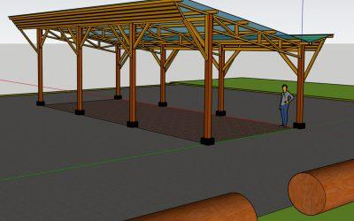 Mission de Maîtrise d'Oeuvre pour la création d'un hangar agricole